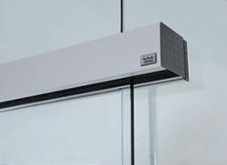 Iti glass glazing hardware the agile 150 manual sliding glass door system from dorma operates on a compact track inside a hidden roller assembly the track can be wall or ceiling planetlyrics Image collections