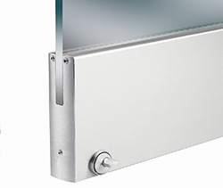 Iti glass glazing hardware it is the quickest easiest assembly of any door rail system available simply clamp rails to a piece of tempered glass planetlyrics Image collections