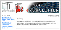 ITI Glass eNewsletter